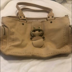 Leather Francesco Biasa Tote great condition!